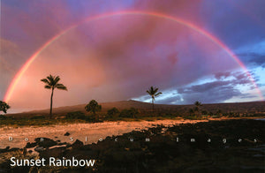 Sunset Rainbow by Don Slocum