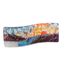 Sunset Beach Small Rectangle Tray