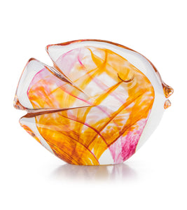 "Glass Fish ""Pink Amber"""