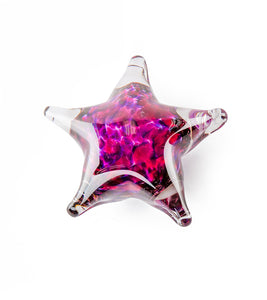"Glass Starfish ""Pink Purple"""