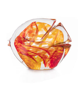 "Glass Fish ""Red Amber"""