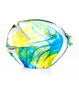"Glass Fish ""Citron Blue"""