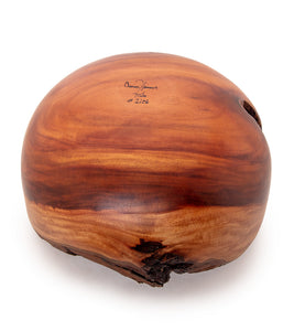 Natural Edge Milo Bowl Koa Stitches #2106