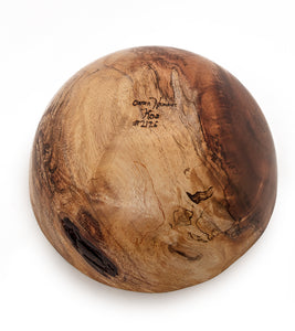 Natural Edge Koa Bowl #2126