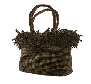 Tess Large Handbag - Brown