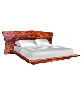 Freeform Koa Slab Bed
