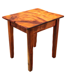 Freeform Koa Slab Nightstand