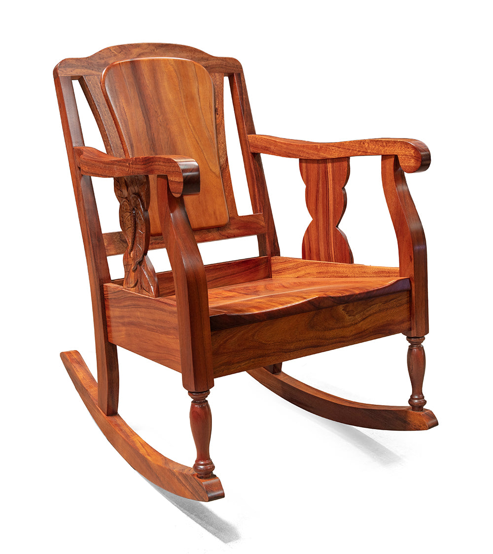 Koele Rocking Chair Solid Wood