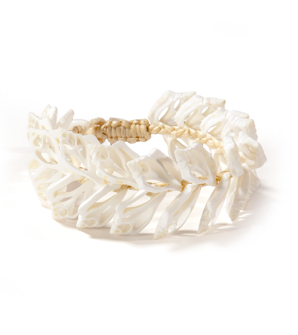 Sliced Shell Bracelet 52592