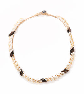 Single Layer with Koa Necklace - 53473