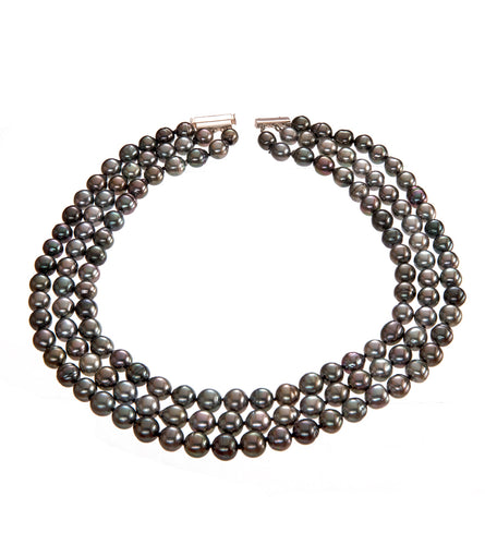 Trio Pearl Strand Necklace 53736