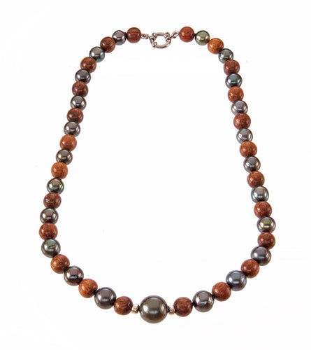 Pearl Koa Strand Necklace 53744