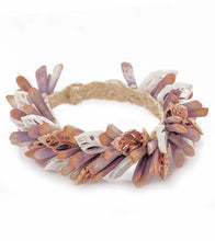 Pink Vana w/White Sliced Shell Bracelet 54302