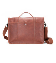 Ultimate Leather Briefcase - Brown