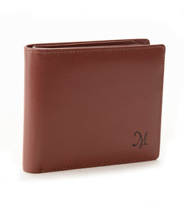 Wide Wallet - Brown