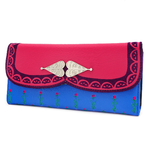 Frozen Anna Cosplay Trifold Wallet
