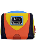Pinocchio Jiminy Cricket Zip Around Wallet