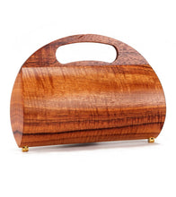 Koa Clutch with Handle