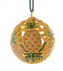 Cloisonne, 6 Pineapples