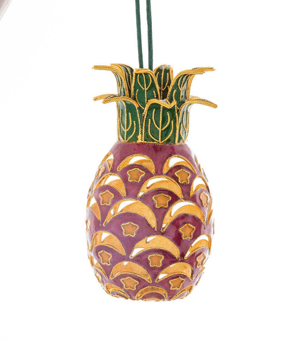 Cloisonne, Pink Pineapple