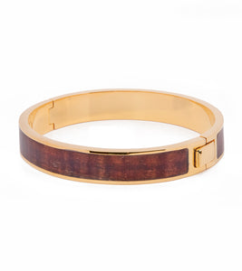 Koa Gold Medium Bangle
