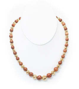 Maile Koa Pearl Necklace