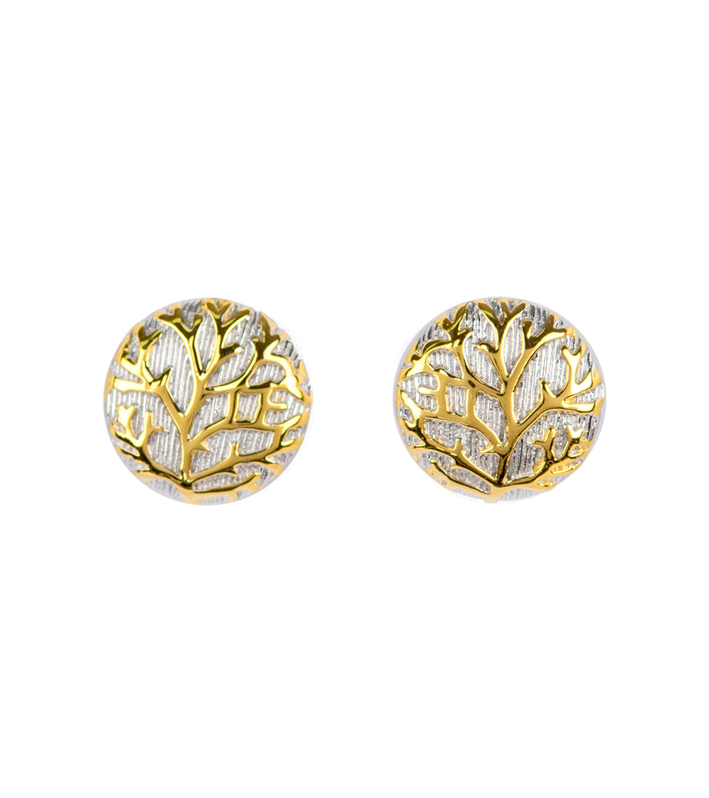 Coral Reef Stud Earrings