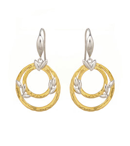 Circle of Life Fishhook Earrings