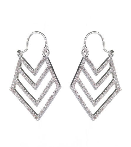 Triangle Arrow Earrings