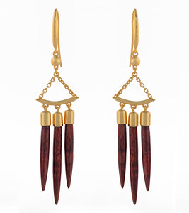 Koa Wana Earrings