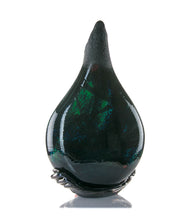 "Glass Vessel ""Black Surface Flow with Sulfur BSF43"""