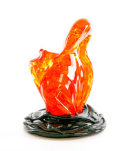 "Glass Sculpture ""Fissure Eruption #24364"""