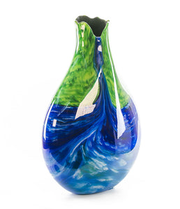 "Glass Vessel ""Waterfall WF135"""