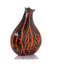 "Glass Crackled Vessel ""Shiny CV31"""