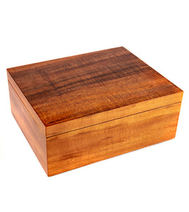 MacArthur Koa Box with Tray - Large