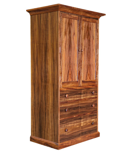 Nuuanu Armoire three cubby