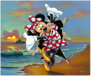 Minnie's Grand Entrance by Jim Warren