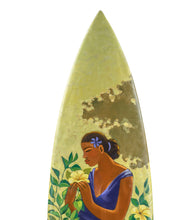 "Surfboard ""Fragrance of Paradise"" by Tim Nguyen"