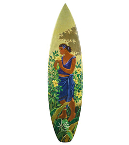 """Fragrance of Paradise"" Surfboard by Tim Nguyen"