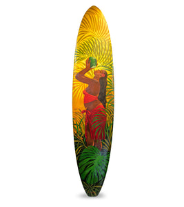 """Fresh Coco"" Surfboard by Tim Nguyen"