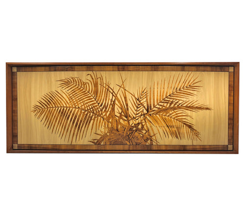 Day Palm Marquetry Wall Art