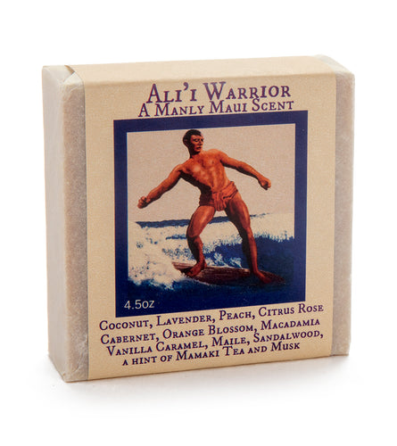 Ali'i Warrior Soap