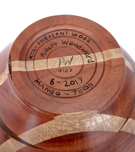 Laminated Koa Wood Vessel #107