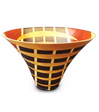 Laminated Wenge Wood Vessel #115