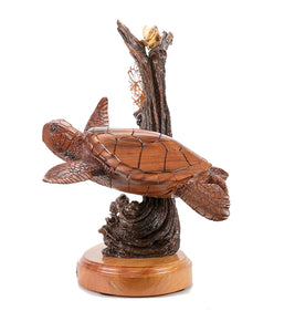 "Koa Wood Sculpture ""Reef Roamers"""
