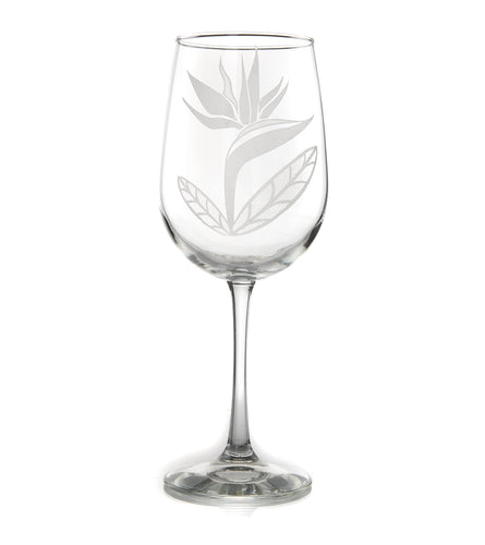 Etched Glassware Wine