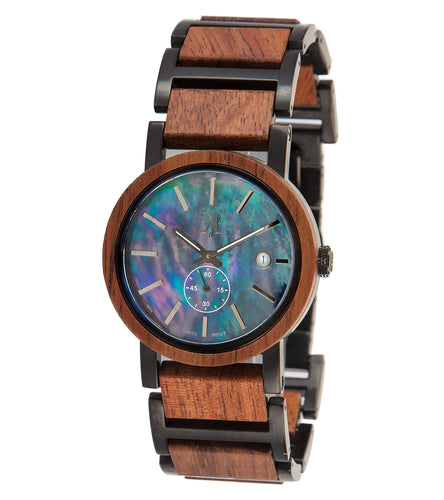 Koa Black, Black Mother of Pearl - 22660