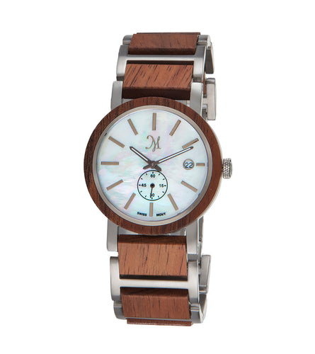 Koa Silver, Mother of Pearl - 23403