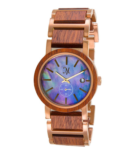 Koa Rose Gold Black, Mother of Pearl - 23548