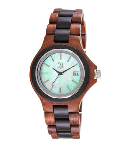 Karri wood Mother of Pearl Face - 23597
